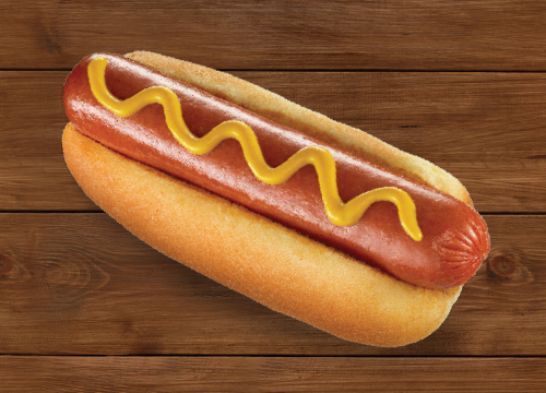 hmf foodservice channels recreation hotdog on wood background
